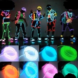 Green neon flexible LED light with controller tool